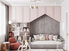 Get inspirations in order to decor the perfect room for your kids! Luxury Bedroom Design, Interior Design Living Room, Girl Room, Girls Bedroom, Creative Kids Rooms, Teenage Room, Kids Room Design, Luxurious Bedrooms, Architecture