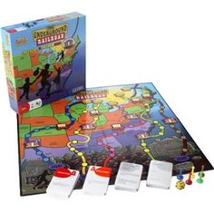 Amazon.com: Black Heritage The Underground Railroad Game: Toys & Games