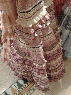 Hola Spanish Dress, Spanish Style, Flamenco Dresses, Dance, Rose, European Clothing, Inspiration, Outfits, Clothes
