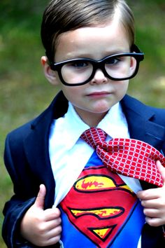 Super...Boy! Idee costumi Halloween costume