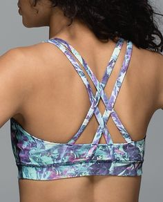 Lululemon Energy Bra-great fit and so comfortable.
