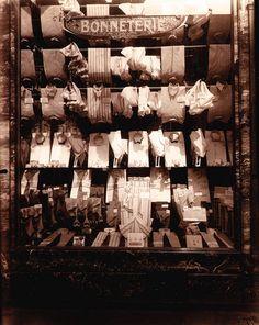 Chemisierie, Boulevard de Strasbourg, c. Eugene Atget, Old Paris, Vintage Paris, Paris Bistro, Old Photos, Vintage Photos, Berenice Abbott, French Photographers, Strasbourg