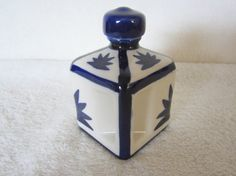 Asian Motif Jar Elegant Vintage by NowAndThenConnection on Etsy