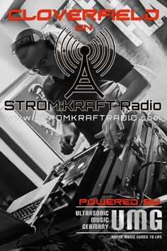 Monday 7.00pm – STROM:KRAFT pres TOM CLOVERFIELD – exclusive Radio Show