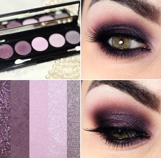 Tutorial – olho esfumado com sombra roxa