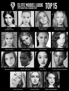Elite Model Look World Final 2012: Top 15