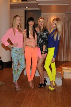 neons, florals, and prints from Guess Summer 2012 collection
