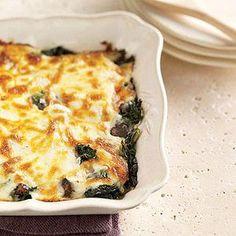 Polenta with Kale and Portobello Mushrooms