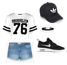 """Bez naslova #1"" by alkakahrimnovic ❤ liked on Polyvore featuring NIKE, Boohoo, MANGO, adidas and Miss Selfridge"
