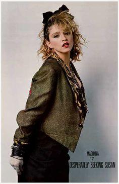 Madonna Desperately Seeking Susan Portrait Movie Poster 11x17