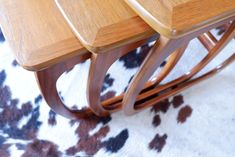 Retro Vintage Nathan Nest of Tables