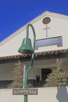 Main Street, Ventura, California now follows the original road of the Ventura Mission area, El Camino Real, which connected the California missions to one another.