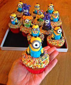 Minions Cupcakes                                                       …                                                                                                                                                                                 More