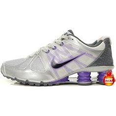6c65aa2fb963c2 Womens Nike Shox Agent Silver Purple Grey Nike Shox For Women