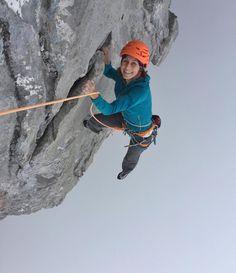 "3,634 Likes, 41 Comments - Arnaud Petit (@arnaudpetit_climb) on Instagram: ""Fog, smiles and steep limestone in the Aravis, near Chamonix. #stephaniebodet #alaverticaledesoi…"""