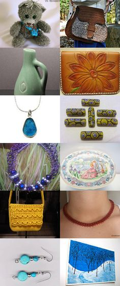Great Friends, Great Collection! by Monica Wilga on Etsy--Pinned with TreasuryPin.com