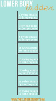 A lower body workout to do at home! | The Slender Student