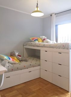 Girl Room, Girls Bedroom, Bedroom Decor, Couple Bedroom, Bedroom Ideas, Master Bedroom, Bunk Bed Designs, Dressing Room Design, Shared Bedrooms