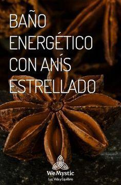 BAÑO ENERGÉTICO CON ANÍS ESTRELLADO Health Remedies, Home Remedies, Natural Remedies, Green Magic, White Magic, Magick Book, Sage Smudging, Herbal Magic, Spiritual Messages