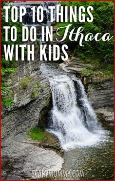 Looking for ideas, tips and things to do in Ithaca, New York with kids? The Scary Mommy Travel Guide was created because there is nobody better to help you survive traveling to an unfamiliar destination than a mom who lives there. Read the ever growing guide here, or submit your own hometown! summer | spring break | family vacation | parenting advice