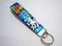 CountingBunniesToo: Juice Pouch Key Fob