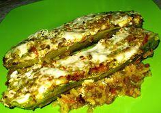 Danina kuhinja: Punjene  pečene  tikvice