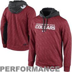 Nike Washington State Cougars KO Performance Tonal Hoodie #GoCougs