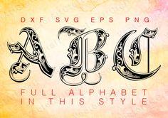 Royal eps Alphabet Numbers font dxf SVG Cricut Design