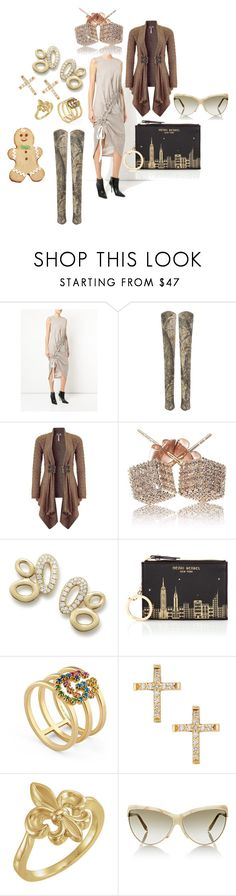 """""""PolyPresents Wish List"""" by michelle858 ❤ liked on Polyvore featuring Lipsy, Ippolita, Henri Bendel, Gucci, Lana Jewelry, Victoria Beckham and Wilton"""