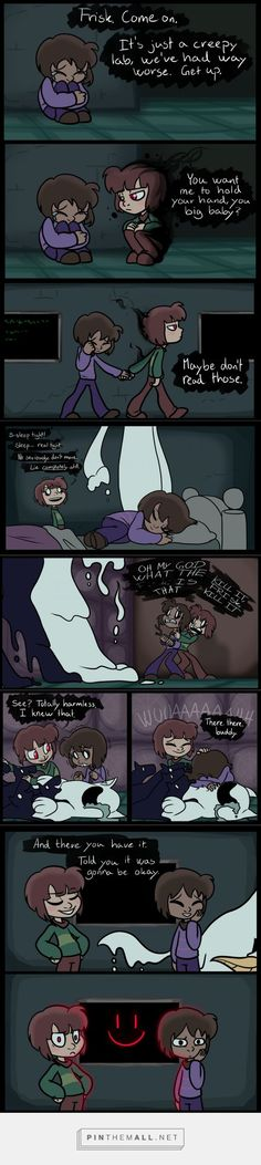 Frisk and Chara - comic: