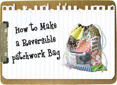 14 Cute Cinch Sack Tutorials