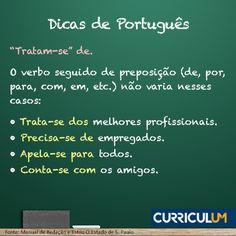 Não erre mais o português no currículo! Conte sempre com nossa Revisão ou Análise de Currículo. Conheça AQUI http://www.curriculum.com.br/candidatos-ferramentas-revisao-e-analise.asp #DicasCurriculum
