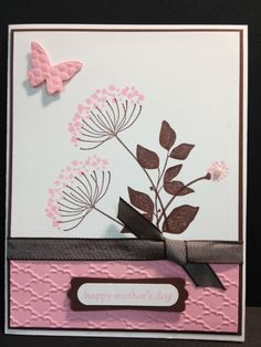 stampin up card samples | Summer Silhouettes Stampin' Up! Card