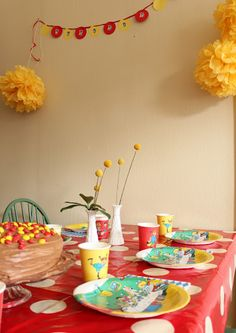 That's so cute!  It's a Pippi Longstocking party.