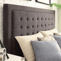 Kingstown Home Aurelia Linen Headboard & Reviews   Wayfair