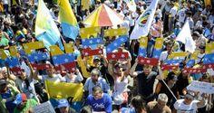 ¡POR UNA VENEZUELA LIBRE! Dirigentes ante el CNE: El pueblo clama una salida electoral
