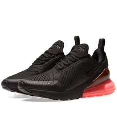 Nike Air Max 270 (Black & Hot Punch) ...