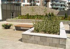 Rudus Paasikko, väri harmaa. Kansikivi graniitista. Garden Wall, Curved Walls, Retaining Wall, Wall