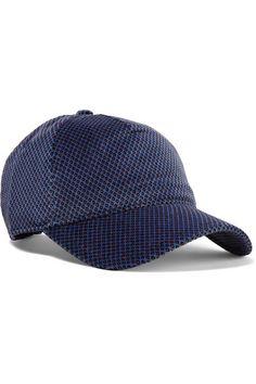9c0cb938c7ebf rag   bone - Marilyn Leather-trimmed Cotton-blend Velvet-jacquard Baseball  Cap