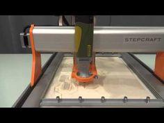 Stepcraft 2 - Universal Desktop CNC / 3D Printer / Laser - YouTube