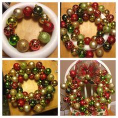 4b7df4f35870961da9feba66db2f846e.jpg 1,200×1,200 pixels Bauble Wreath