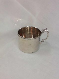 Sterling Silver Christening Cup