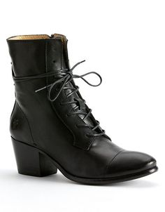 Frye Women's Courtney Lace-Up Boots - Round Toe Suede Booties, Bootie Boots, Basson, Combat Boots, Ankle Boots, Witch Shoes, Thigh High Boots, Leather Flats, Beautiful Shoes