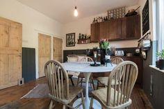 cottage kitchen/ dinner with aga  14'5 x 11'5