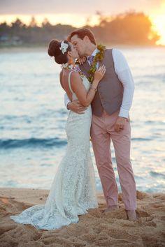 Technicolor Tropical Destination Wedding In Wainiha Bay Kauai Hawaii | Photograph by Martina Micko   http://storyboardwedding.com/technicolor-tropical-destination-wedding-wainiha-bay-kauai-hawaii/