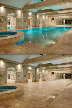 Hydrofloor Hidden Pool, Variable Depths Or Close Completely