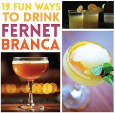 19 Fun Ways To Drink Fernet Branca