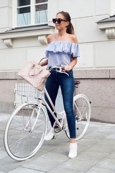 Image of 如何打扮時髦地踏單車?看看時尚達人的示範﹗