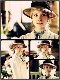 Anna Smith  (Joanne Froggatt)  The head housemaid ~ Downton Abbey