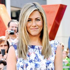One of my favorite actresses of all time, Jennifer Aniston! Such a classic beauty! Hair Day, New Hair, Gorgeous Hair, Amazing Hair, Great Hair, So Little Time, Pretty Hairstyles, Hair Lengths, Pretty People